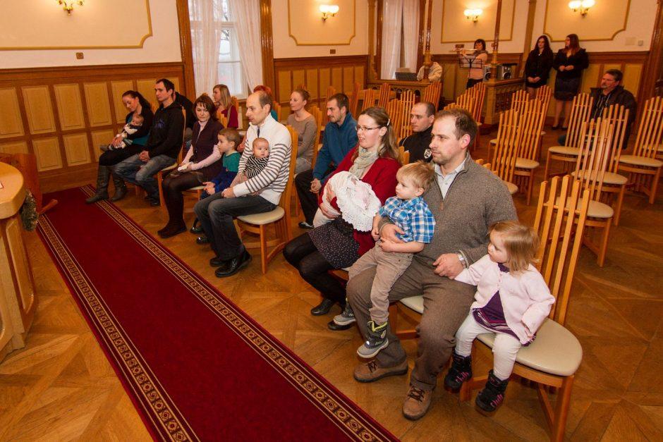 Vítání nových občanů obce Slatina