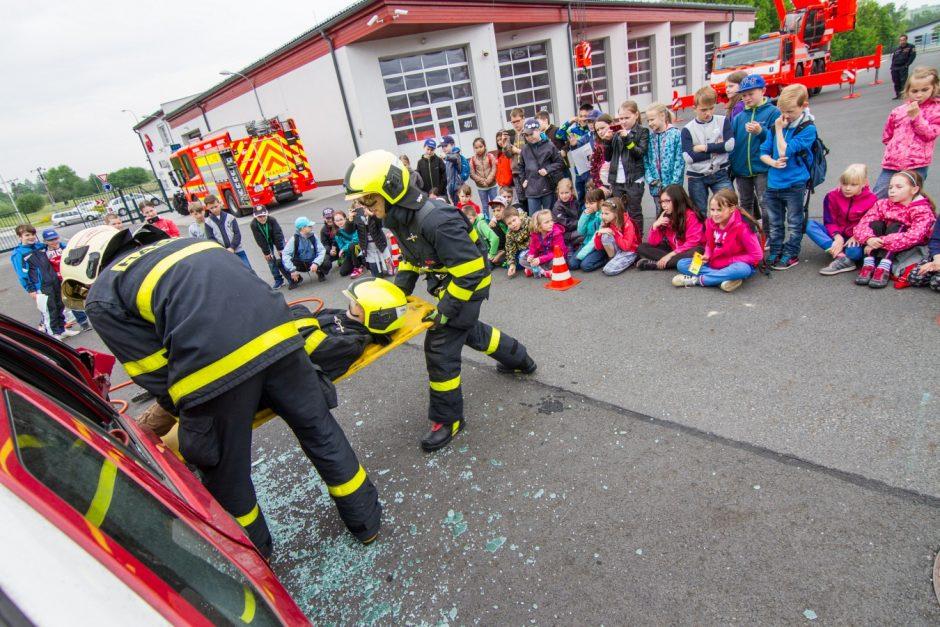 Den požární bezpečnosti na stanici Ostrava - Zábřeh