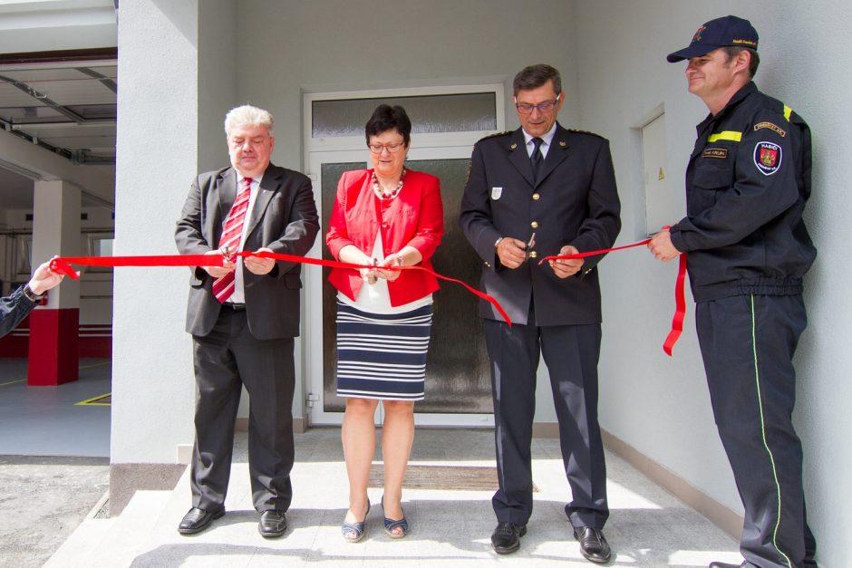 Slavnostní otevření zrekonstruované hasičské zbrojnice ve Frenštátě pod Radhoštěm