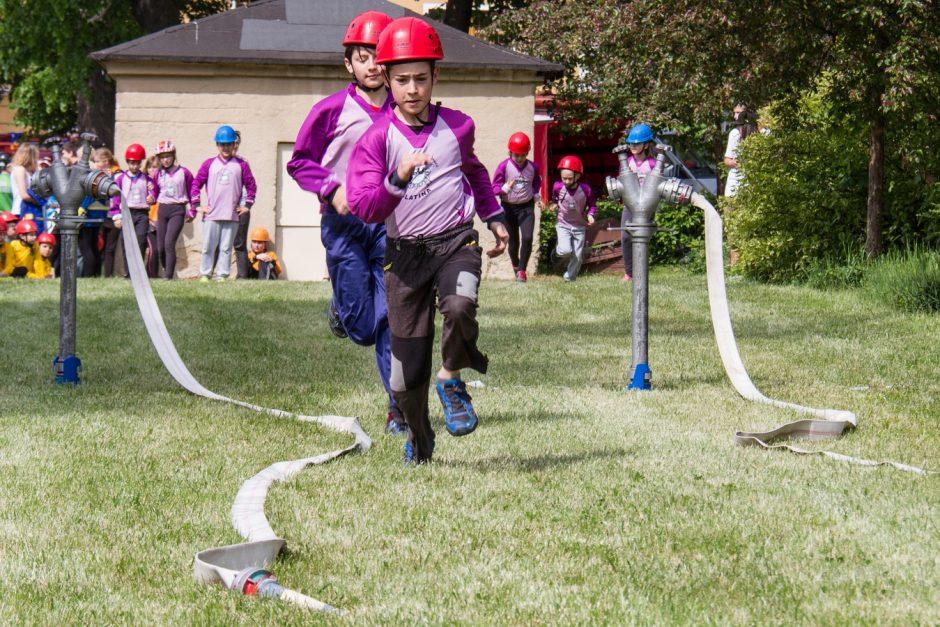 Soutěž mladých hasičů ve Fulneku