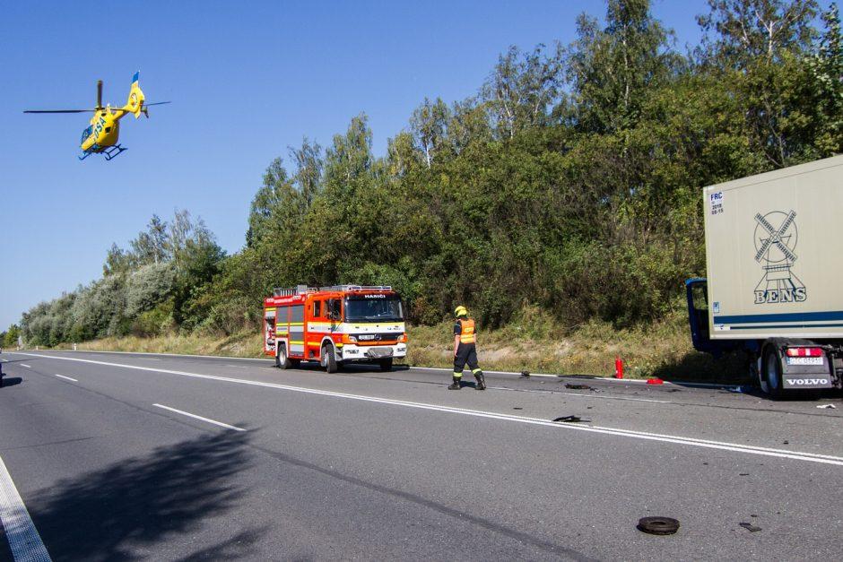Dopravní nehoda v Rychalticích