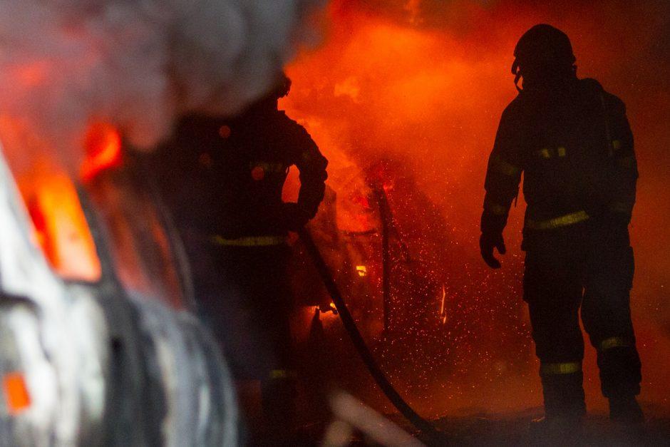 Výcvik hasičů z Bílovce v Dolní oblasti Vítkovic