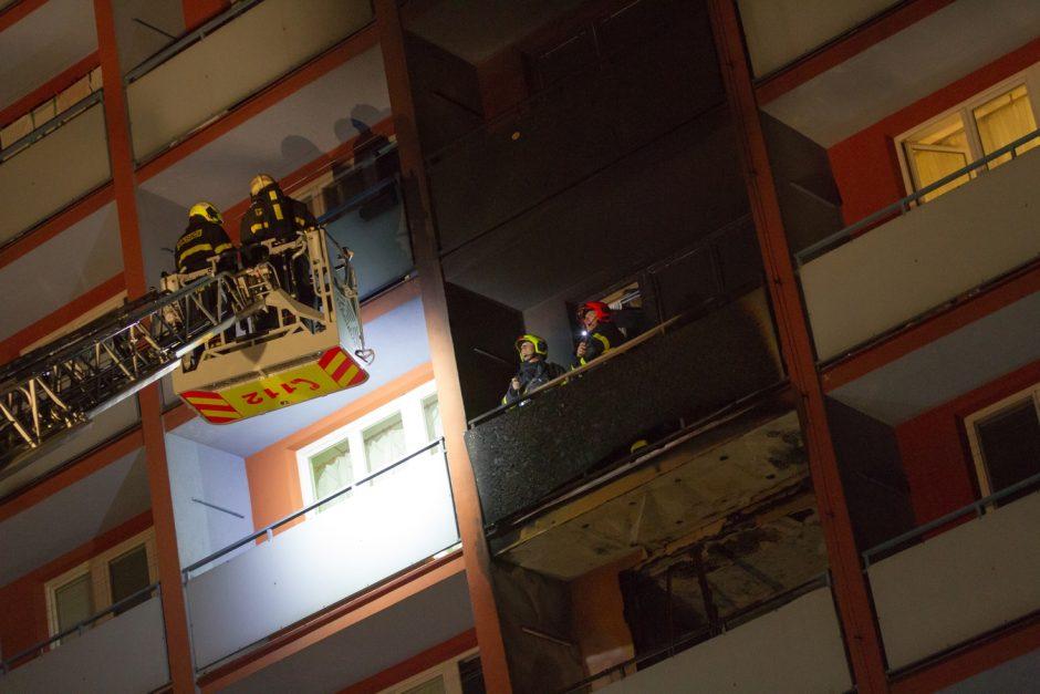 Požár bytu ve Slezské Ostravě