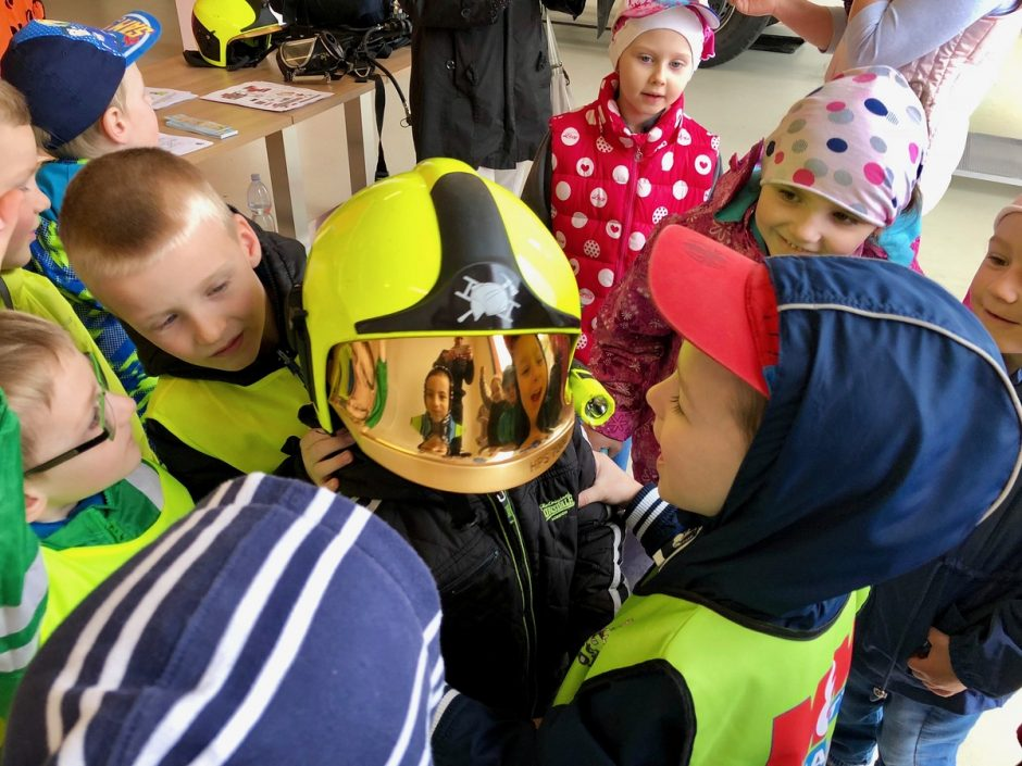 Den požární bezpečnosti na stanici HZS MSK v Bílovci